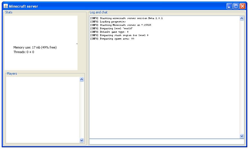 Как создать сервер без программ майнкрафт 18 - Mdvedv.ru